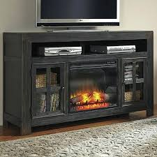glass fireplace tv stand plain decoration fireplace stand black stands electric fireplace media console with glass