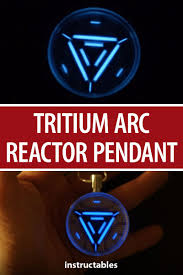 Tritium Arc Reactor Pendant Incl Video M Arc Reactor