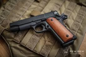 1911 Pistol Comparison Chart Best 1911 Pistols For The Money 2019 Pew Pew Tactical