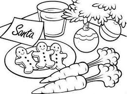 Christmas Coloring Page Gingerbread Man Coloring Kids Concept Of
