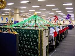 christmas decor for office. Cubicle Christmas Decorating Ideas Funny Decor For Office E