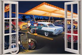 50s diner wallpaper 8395515681