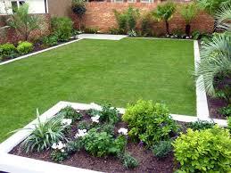 modern minimalist home garden layout idea