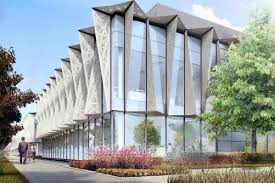 office building facades. Office Facades. Exellent Cgi Of Armu0027s New Hq At Peterhouse Technology Park In Building Facades U