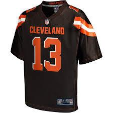 Big amp; Nfl Odell Pro - Tall Jr Line Beckham Browns Brown Player Cleveland Jersey