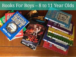 books for boys 8 to 11 year olds