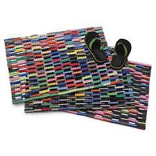 front door matsFlip Flop Mat  Recycled Rubber Doormat Welcome Mat  UncommonGoods