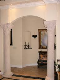 Pillars For Home Decor Elegant Decorating Pillars For Luxury House Interior Design Toobe8