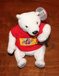 Exclusive Collectible Coca Cola Polar Bear in Red ... - Amazon.com