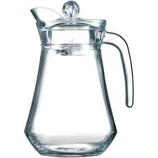 glass jug 1 3l with lid arc jug juice jug water jug luminarc arcoroc