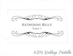 Place Card Printable Template Table Place Cards Template Wedding Seating Place Cards Template