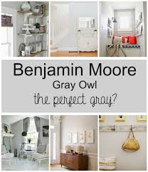 benjamin moore paint colors grayPaint Colors Gray Owl by Benjamin Moore  Wife in Progress
