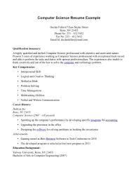 Computer Science Internship Resume Sample Cover Letter Internship Computer Science Hvac Cover Letter Sample 10