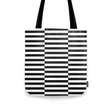 ikea striped rug rug pattern black stripe black tote bag