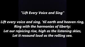 LIFT EVERY VOICE and SING African ...