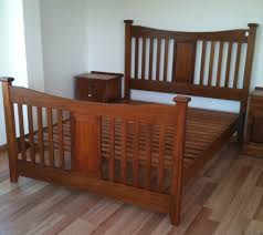 Tasmanian Oak Bedroom Furniture Federation Bed Turners Blackwood Furniture