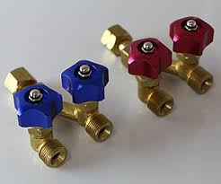 Image result for Y Piece Tap for Acetylene LPG