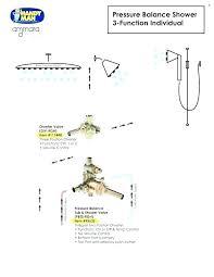 standard shower head heights control height valve trim kit rain stan