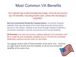 Overview Of Va Benefits For Justice Involved Veterans