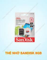Thẻ Nhớ Sandisk 8GB Tốc Độ Đọc 48MB/s