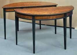 half moon dining table inspiring half moon dining table round of half moon dining tables for