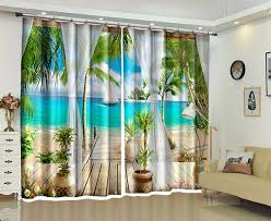 Office drapes Traditional Blue Sea Photo Luxury 3d Curtains For Living Room Bedroom Curtains Hotel Office Drapes Cortinas Pasa Ebay Aliexpresscom Buy Blue Sea Photo Luxury 3d Curtains For Living
