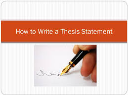 how to write a thesis statement what is a thesis an arguable  1 how