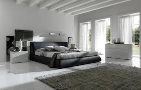 All grey modern bedroom idea
