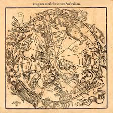 Constellation Chart Vintage Constellation Chart 1541