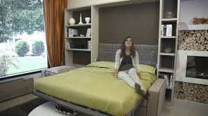 Smart Bedroom Furniture Milano Smart Living Presents Wall Bed Collection 2014 Youtube