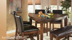 Kitchen Tables Ashley Furniture Larchmont Counter Height Casual Dining Set By Signature Design By