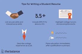 Resume sample format for students student resume sample. Student Resume Examples Templates And Writing Tips