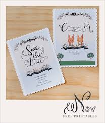 Downloadable Save The Date Cards Under Fontanacountryinn Com