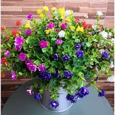 2021 artificial flowers outdoor fake
