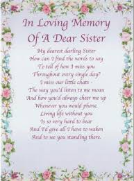 Loss Of A Sister Quotes Cool Quotes About Missing A Sister Who Has Died Google Search Sister