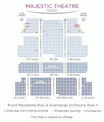 Emerson Majestic Seating Chart Majestic Theater Seating Reviews The Arts