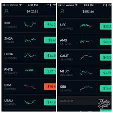 New to RobinHood and investing in general. Been trying to follow Reddit  comments and StockTwits on stocks to invest in along with my own research.  I'm two trading days in so far.