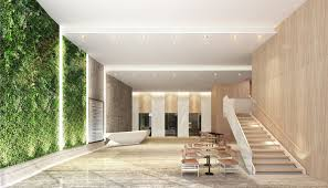 office entrance design. Clients Wanted To Renovate The Existing 70-floor Office Building, ING Tower, In Hong Kong. Renovation Included Redesign Of Facade, Entrance Lobbies, Design