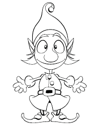 Elf On The Shelf Coloring Pages Elf On The Shelf Color Pages Elf