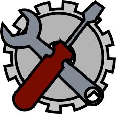computer tools icon. admin tools icon computer h