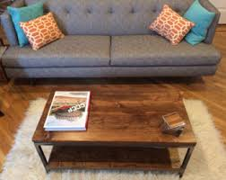 Reclaimed Wood Coffee Table: Bare Design   Solid Reclaimed Wood And Steel Coffee  Table