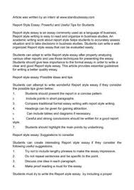 Business Style Essay Format Www Moviemaker Com