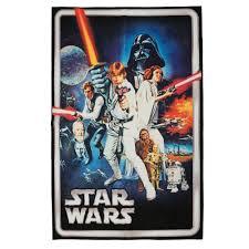 star wars multi color 5 ft x 7 ft indoor juvenile area rug