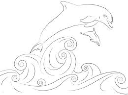 Coloring pages are fun for children of all ages and are a great educational tool that helps children develop fine motor skills, creativity and color recognition! Cute And Fun Dolphin Coloring Pages 101 Coloring