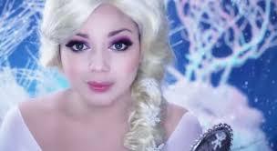disney princess makeup tutorial frozen elsa makeup tutorial disney make up frozen make