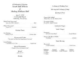 Catholic Wedding Ceremony Program Templates Free Printable Wedding Programs Templates Catholic Wedding Ceremony