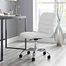 office chair genuine leather white. Full Size Of Eei Whi Genuine Leather White Armlesse Chairwhite Desk Chair Bookcaseseei Office S