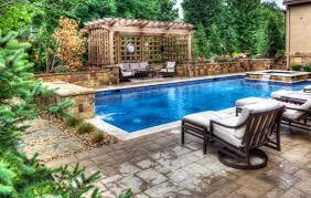 backyards by design.  Backyards A Lap Pool And Spa In Leawood Kansas By Backyard Design KC On Backyards By