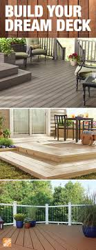 Start planning the deck of your dreams by choosing the right decking  material. Composite decking