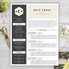 Resumes That Stand Out Inspiration 48 Unique Resume Templates That Stand Out Stock